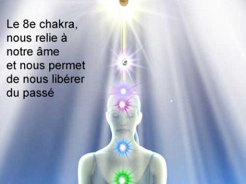 Le 8e chakra chakra de l'âme