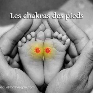 Propriétés des chakras des pieds
