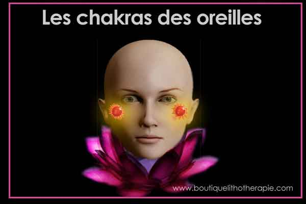 chakras des oreilles