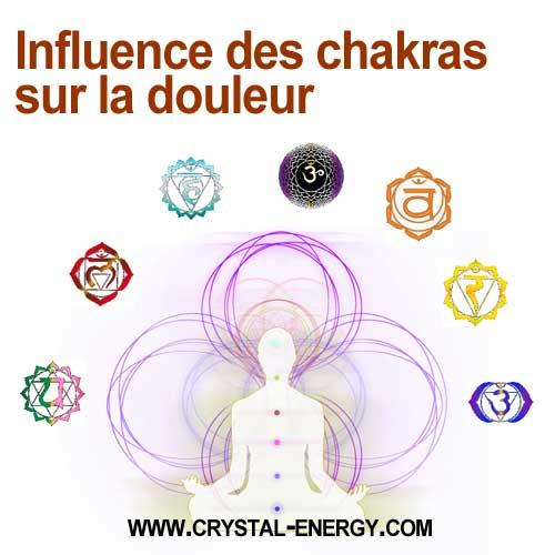 Influence des chakras sur la douleur