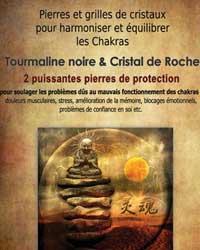 Pierres et grilles cristaux pour harmoniser les chakras