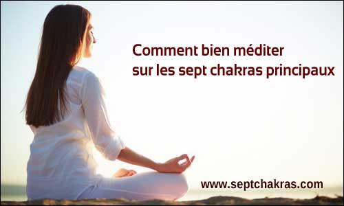 Méditation sur le chakra coronal, le septième chakra