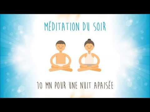 Méditation du soir pour une nuit apaisée – vidéo