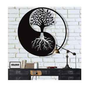 Decoration Mural Yin Yang